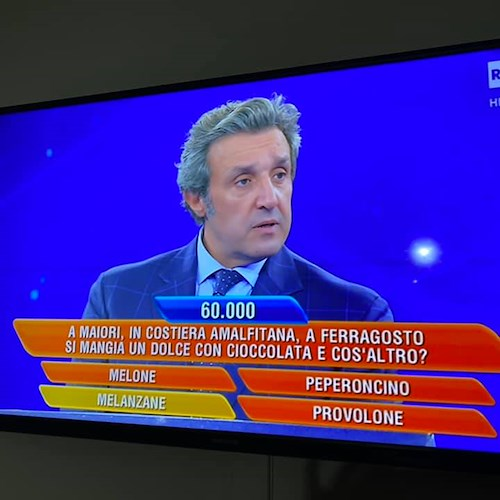 Maiori News Le Melanzane Alla Cioccolata Di Maiori Su Rai Uno A L Eredita La Domanda Da 70mila Euro Video